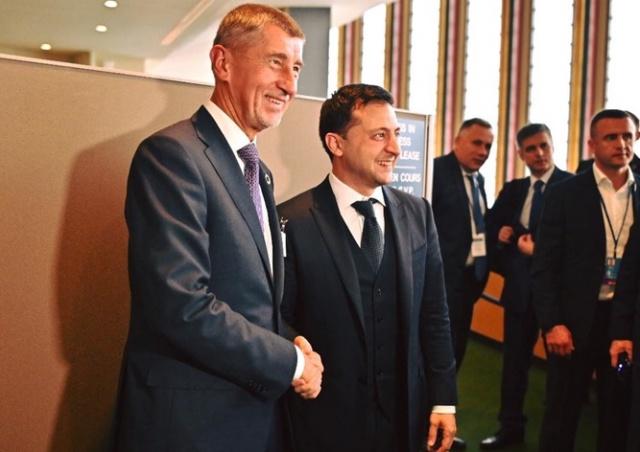 Андрей Бабиш встретился с президентом Украины