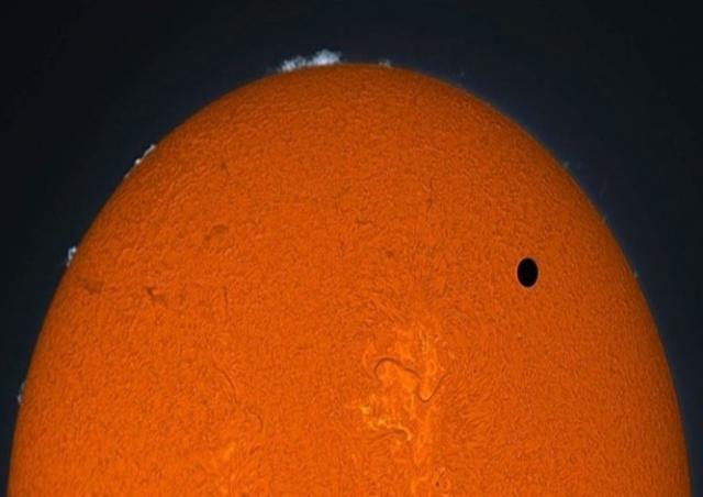 В понедельник жители Чехии смогут увидеть проход Меркурия перед Солнцем