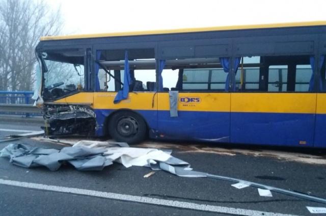 В Чехии автобус попал в ДТП: есть пострадавшие