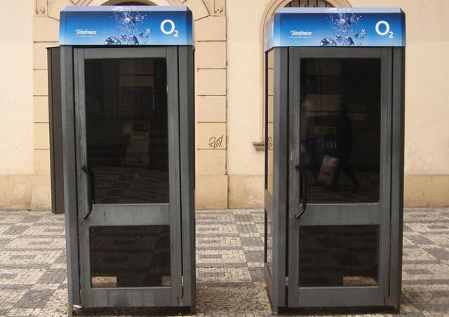 В воскресенье по всей Чехии зазвонят телефонные будки