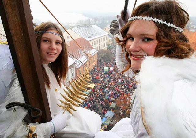 В субботу в чешский городок «слетятся ангелы»