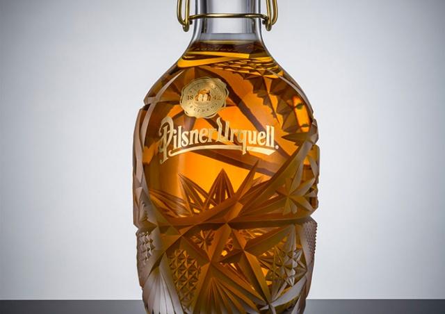 Уникальная бутылка Pilsner Urquell ушла с молотка за 333 тыс. крон