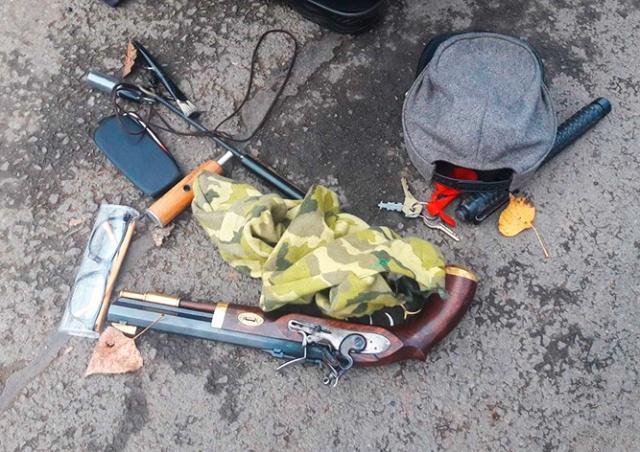 В пражском парке пенсионер стрелял из дуэльного пистолета