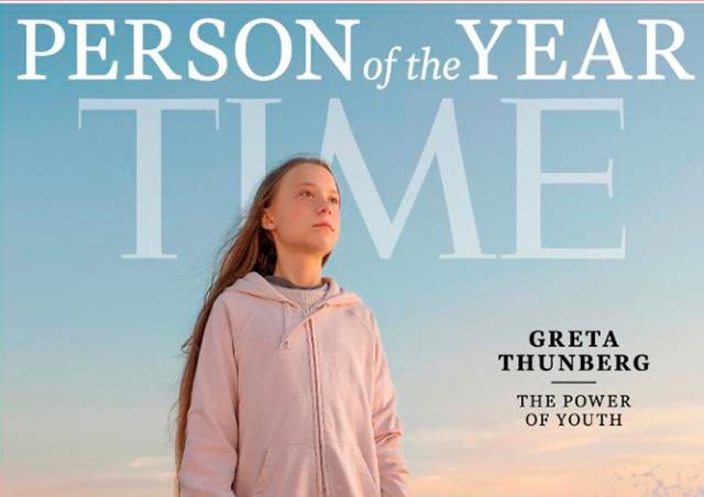 Грета Тунберг стала «Человеком года» по версии Time
