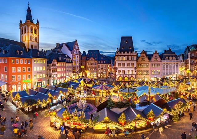 Названы самые красивые рождественские ярмарки Европы