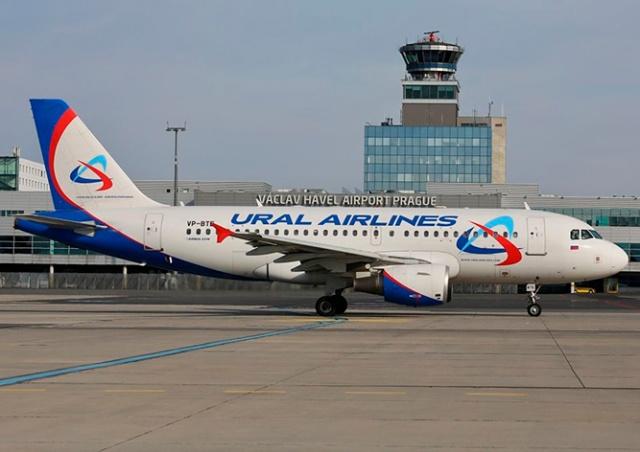 «Уральские авиалинии» начнут летать из Праги в Ростов-на-Дону