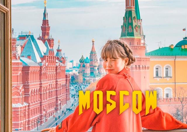 Корейские блогеры сняли красивый клип о Москве: видео