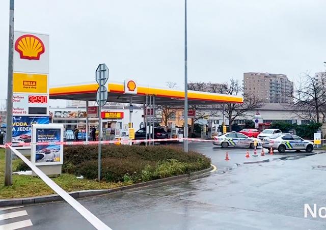 В Праге произошел вооруженный налет на АЗС