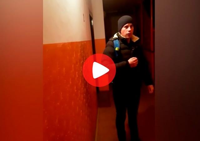 В Праге русскоговорящий вор пытался залезть в квартиру: видео