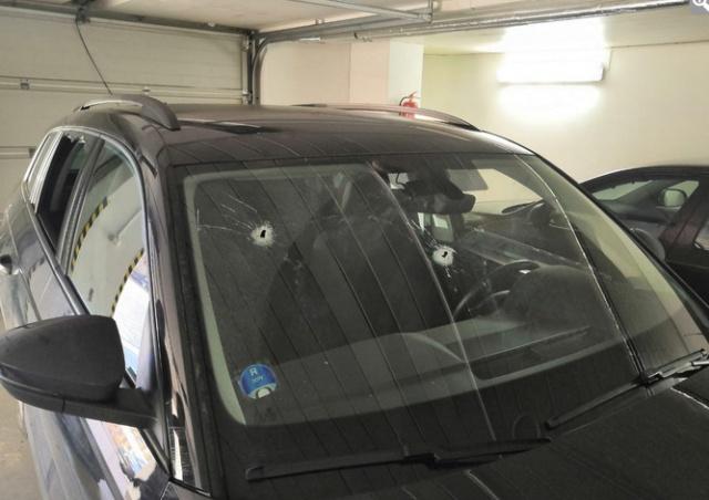 ВИДЕО: в Чехии водитель, стрелявший из автомобиля, задержан за покушение на убийство