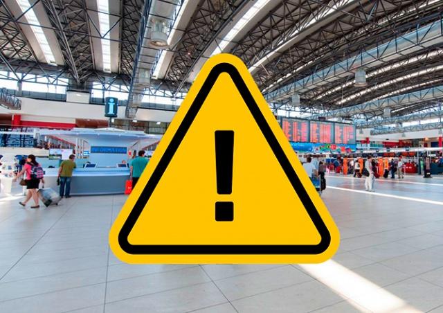 Важно: пражский аэропорт предупредил о переносе места регистрации