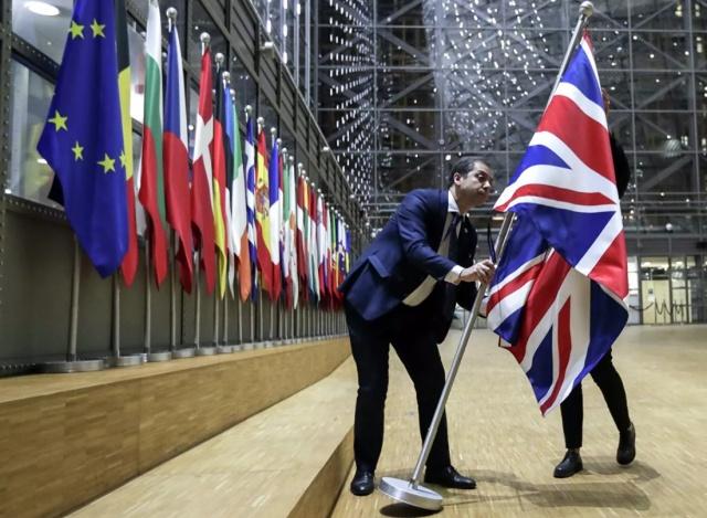 Великобритания официально вышла из ЕС