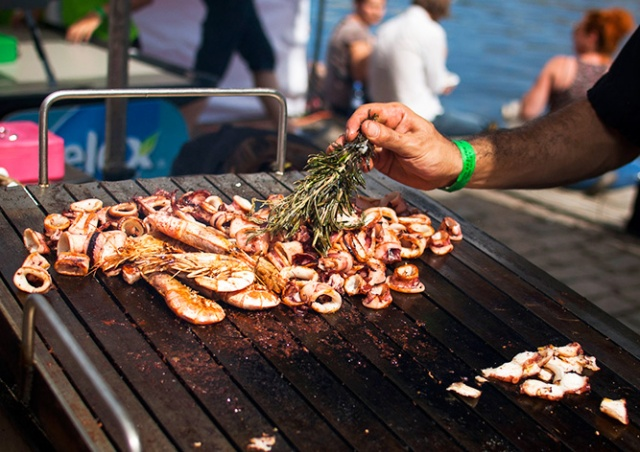 В Праге пройдет фестиваль уличной еды Street Food Smíchov
