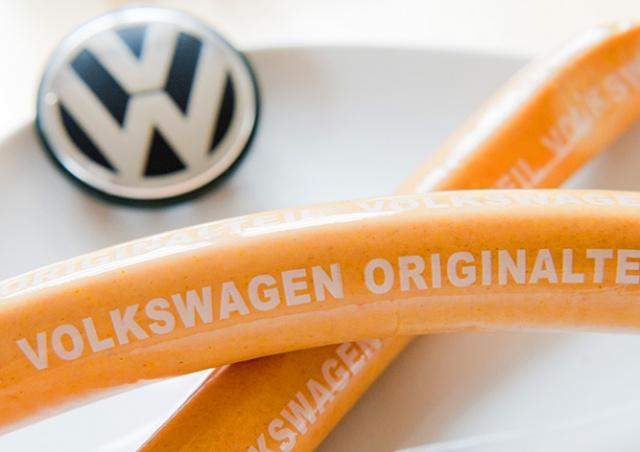 В прошлом году Volkswagen произвел больше сосисок, чем автомобилей