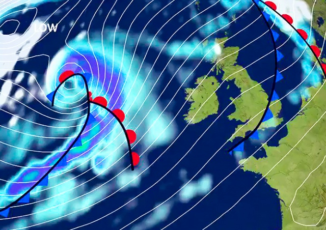 На Чехию надвигается новый ураган