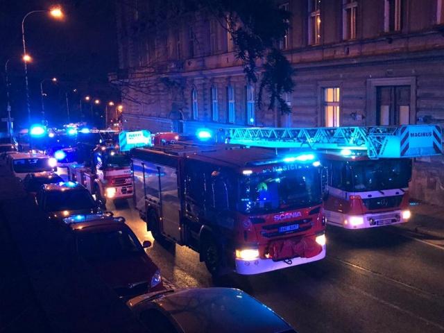 Постояльцев пражского отеля эвакуировали из-за пожара