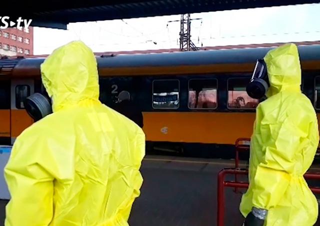 В Чехии остановили поезд из-за чихающих итальянцев