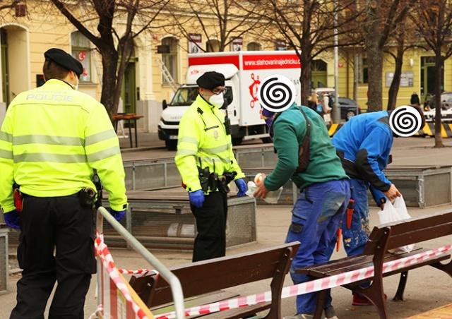 В Чехии полицейским приказали строже наказывать нарушителей карантинных мер