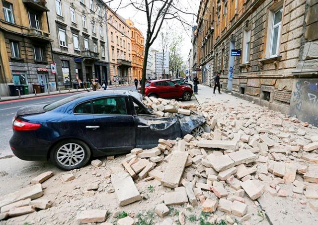 В Хорватии произошли два сильных землетрясения