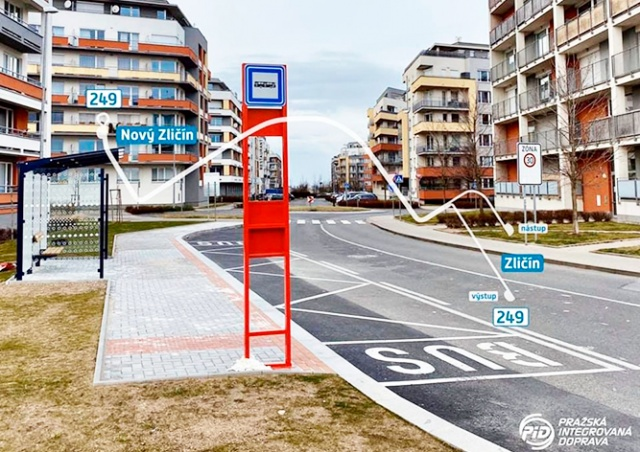 В Праге открыли самую короткую в городе автобусную линию