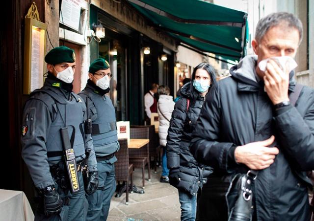Италия «закрыла» Ломбардию и 14 провинций из-за коронавируса