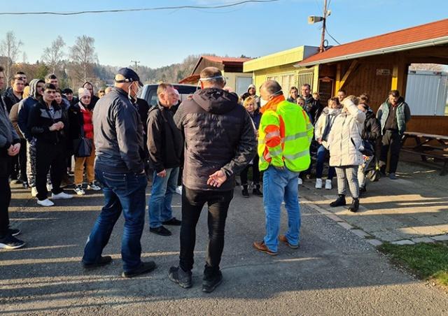 Мэрия чешского города приютила украинцев, застрявших на польской границе
