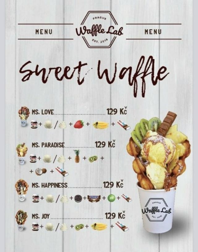 Кафе Waffle Lab