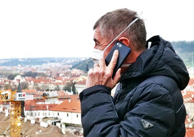 В Праге введут «умный карантин»