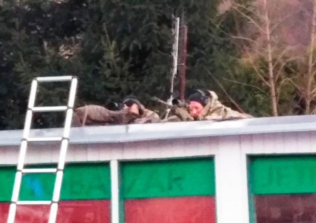 В Чехии снайперы помогли ликвидировать пожар