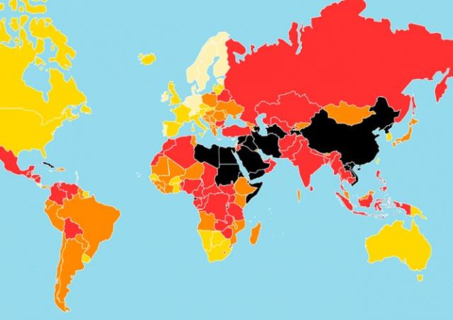 Чехия заняла 40-е место в рейтинге свободы СМИ