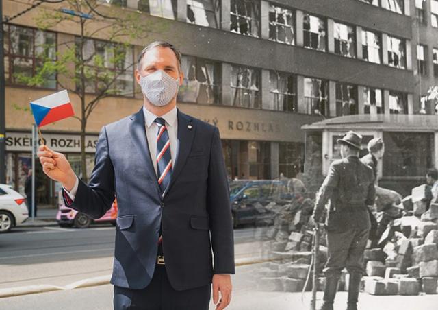 Мэр Праги: советские войска вошли в уже освобожденный город