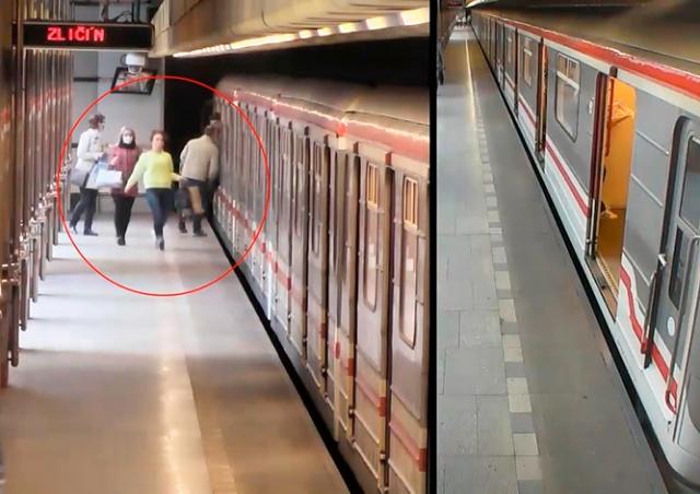 В пражском метро произошла поножовщина: видео