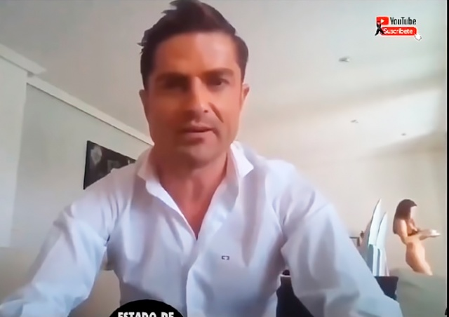 Испанского журналиста поймали на измене во время прямого эфира из дома