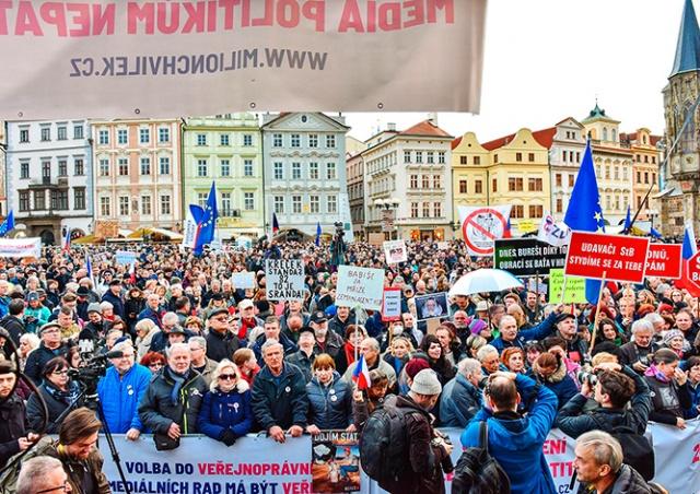 Полиция Чехии: право на свободу собраний важнее санитарных мер
