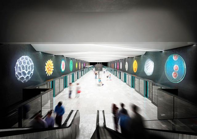 Прага показала дизайн новых станций метро