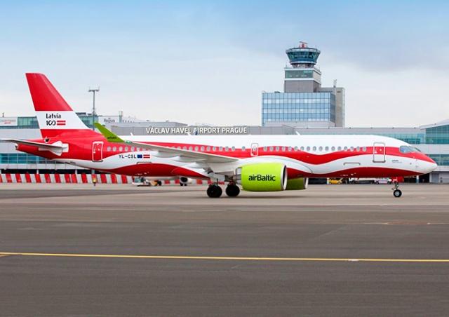 AirBaltic возобновит полеты между Прагой и Ригой