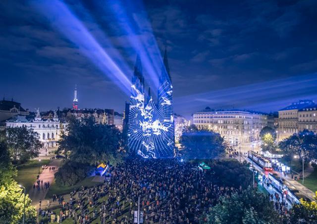 В Праге пройдет фестиваль света SIGNAL