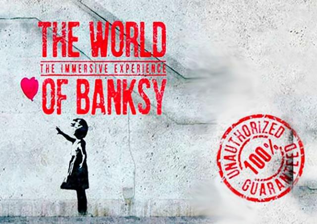 В пятницу в Праге откроется выставка работ Бэнкси