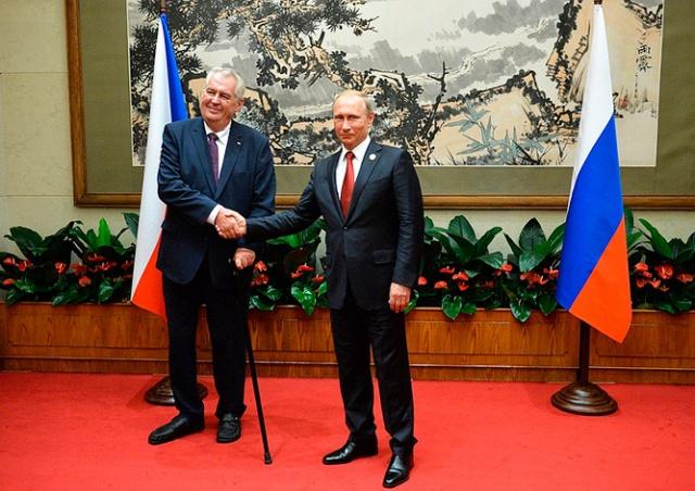 Президент Чехии не поедет в Москву на парад Победы