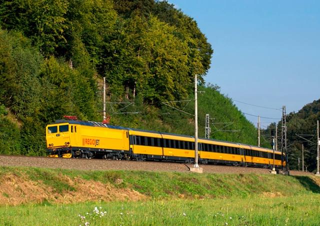 RegioJet назвала стоимость билетов на прямой поезд Прага - Хорватия