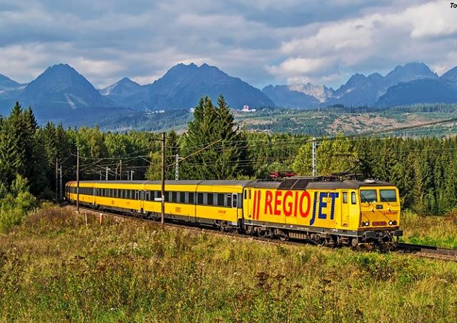 RegioJet запустит прямой поезд из Праги в Хорватию