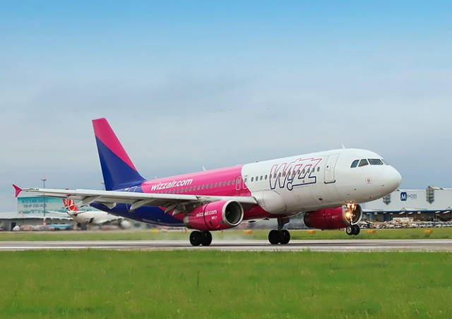 Wizz Air начнет летать из Праги на Кипр