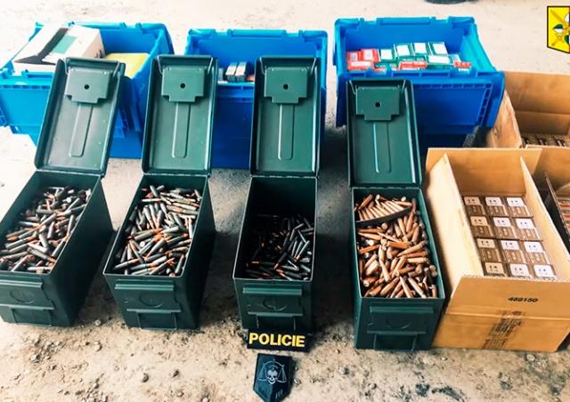 В Праге полиция обнаружила в гараже склад оружия