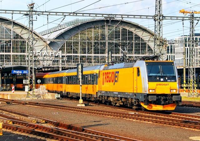 RegioJet запускает поезд Прага – Будапешт с дешевыми билетами