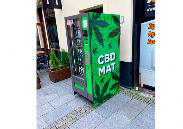 В Чехии появились первые автоматы с коноплей