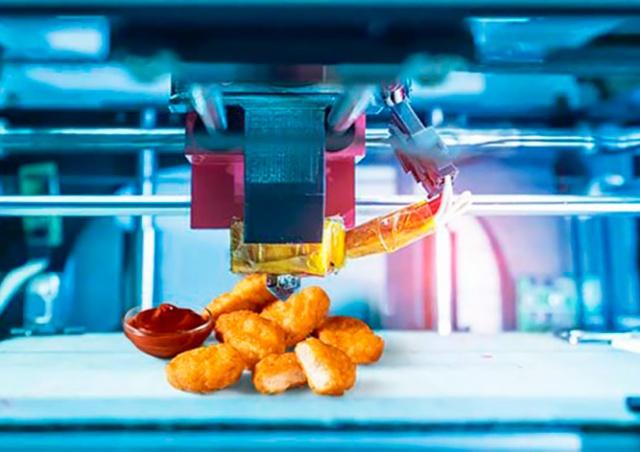 KFC начнет печатать наггетсы на принтере