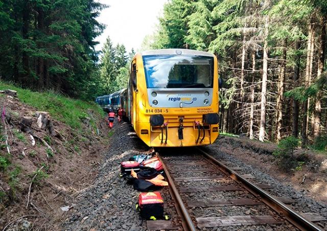 В Чехии столкнулись два пассажирских поезда: есть погибшие