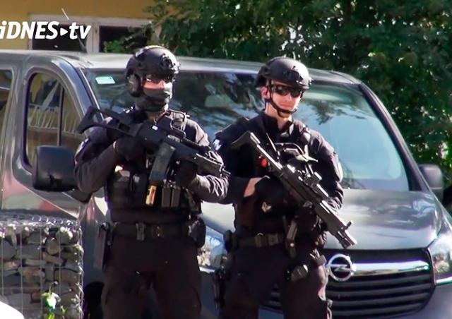 В Праге средь бела дня похитили иностранку