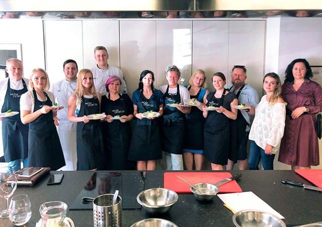 В Праге прошел кулинарный мастер-класс с Войтехом Петржелой