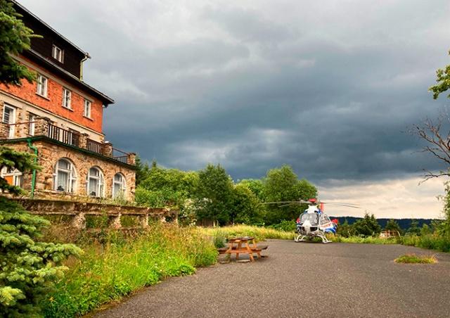 В Чехии в полицейских на квадроцикле ударила молния